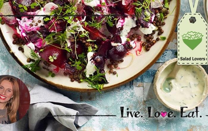 ιστορίες της Κουζίνας   Παντζάρια βραστά με σως από επιδόρπιο γιαουρτιού Becel ProActiv κλασσικό!