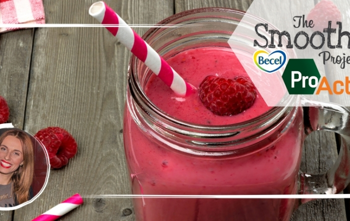 The Becel ProActiv Smoothie Project «Sweet Rosanna»!
