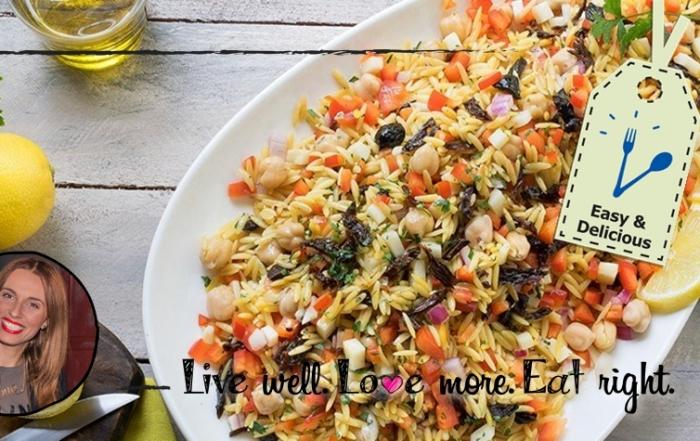 ιστορίες της Κουζίνας │ Κριθαράκι με λαχανικά!